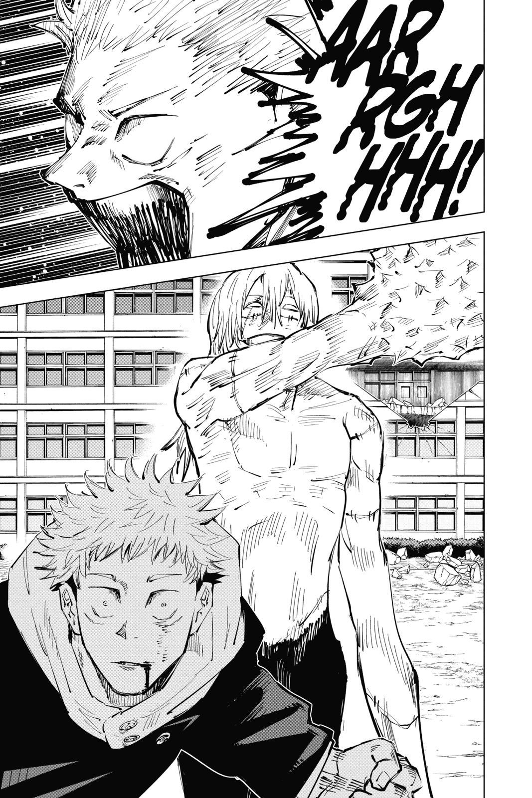 Jujutsu Kaisen, Chapter 28 image 019