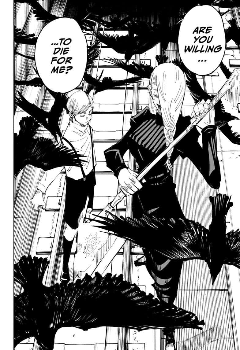 Jujutsu Kaisen, Chapter 102 image 020