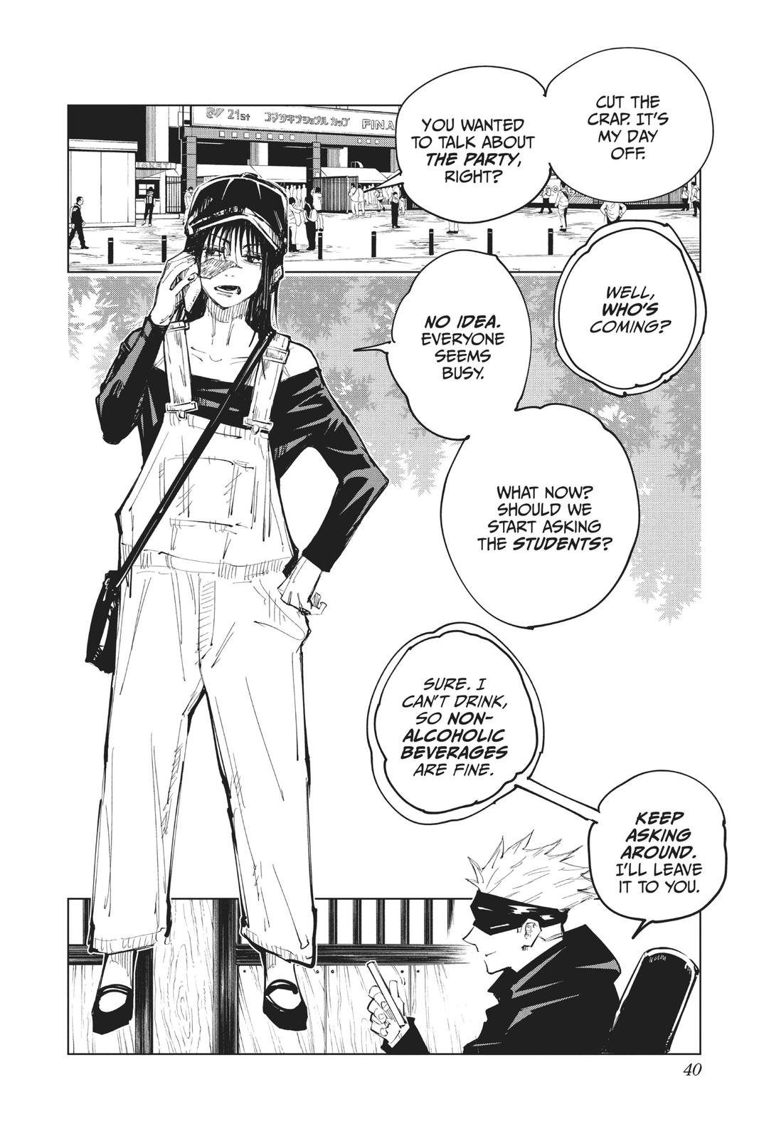 Jujutsu Kaisen, Chapter 63 image 014