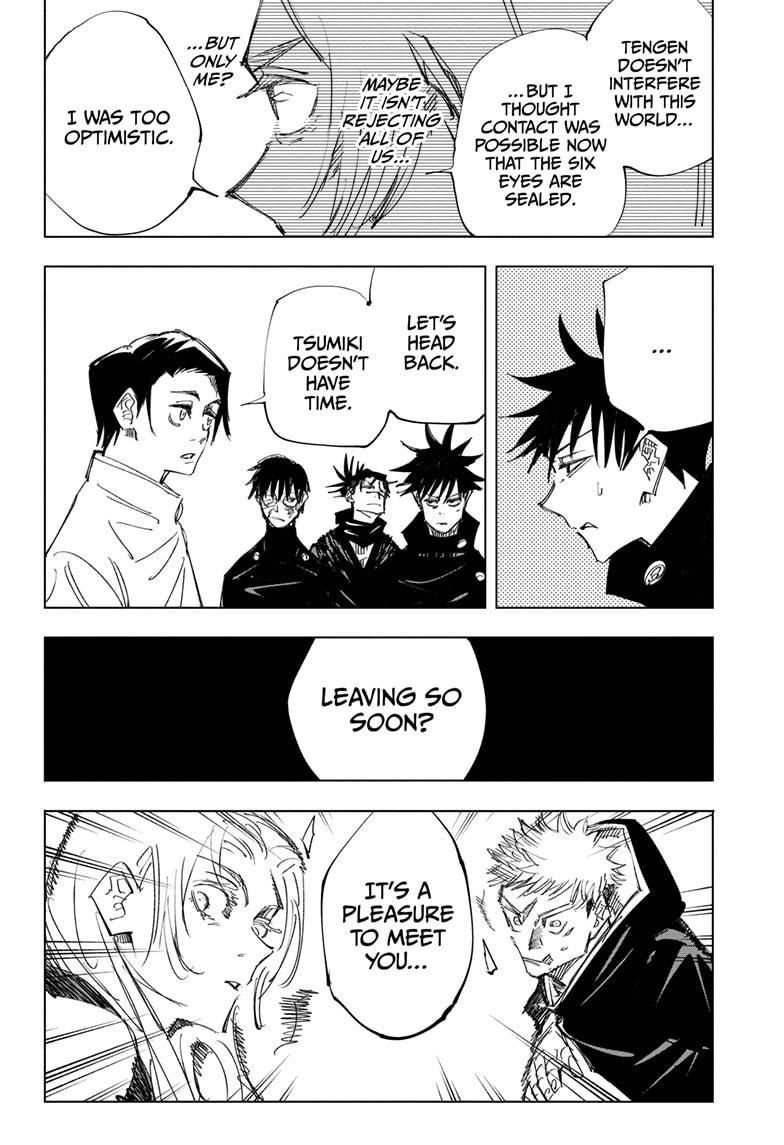 Jujutsu Kaisen, Chapter 144 image 018