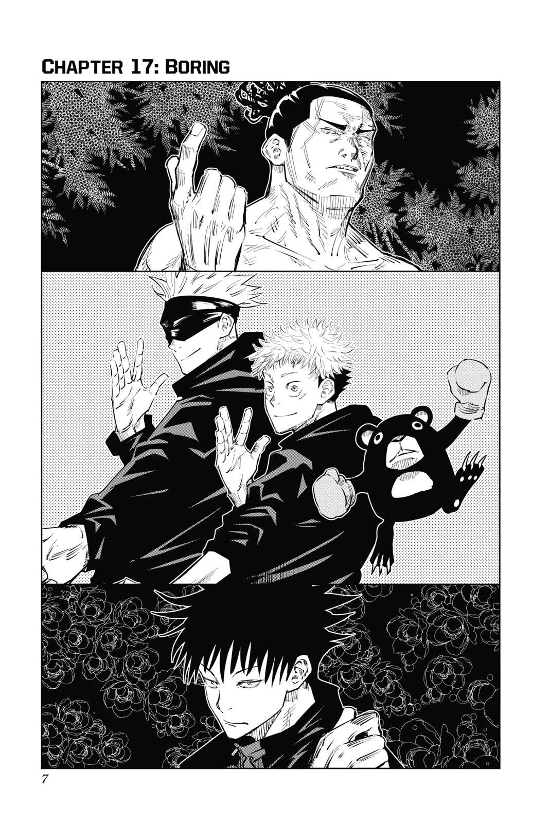 Jujutsu Kaisen, Chapter 17 image 007