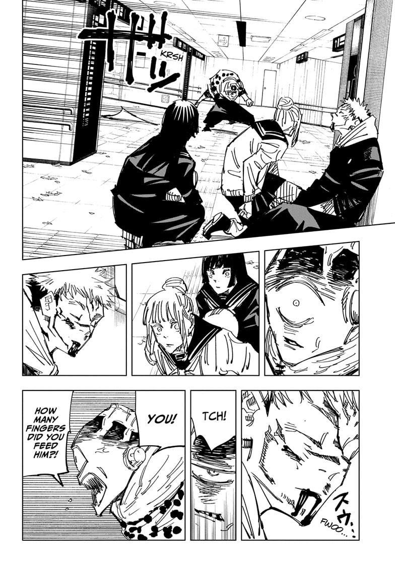 Jujutsu Kaisen, Chapter 111 image 018