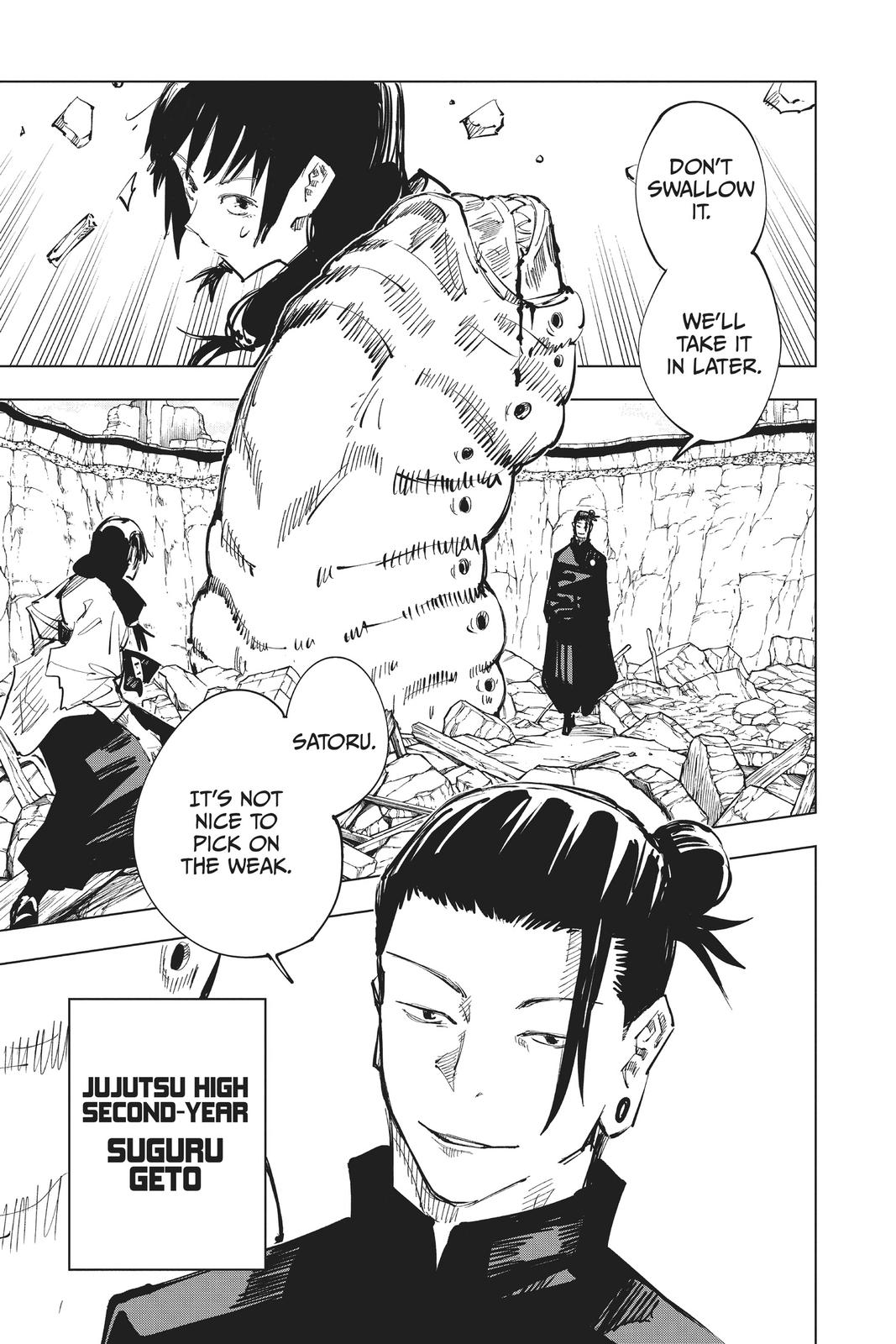 Jujutsu Kaisen, Chapter 65 image 011
