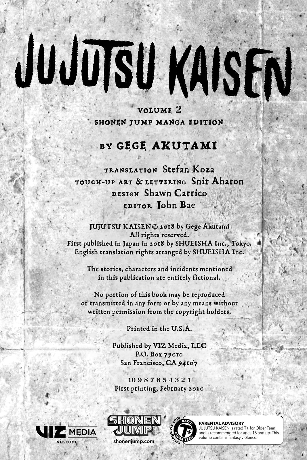 Jujutsu Kaisen, Chapter 8 image 003