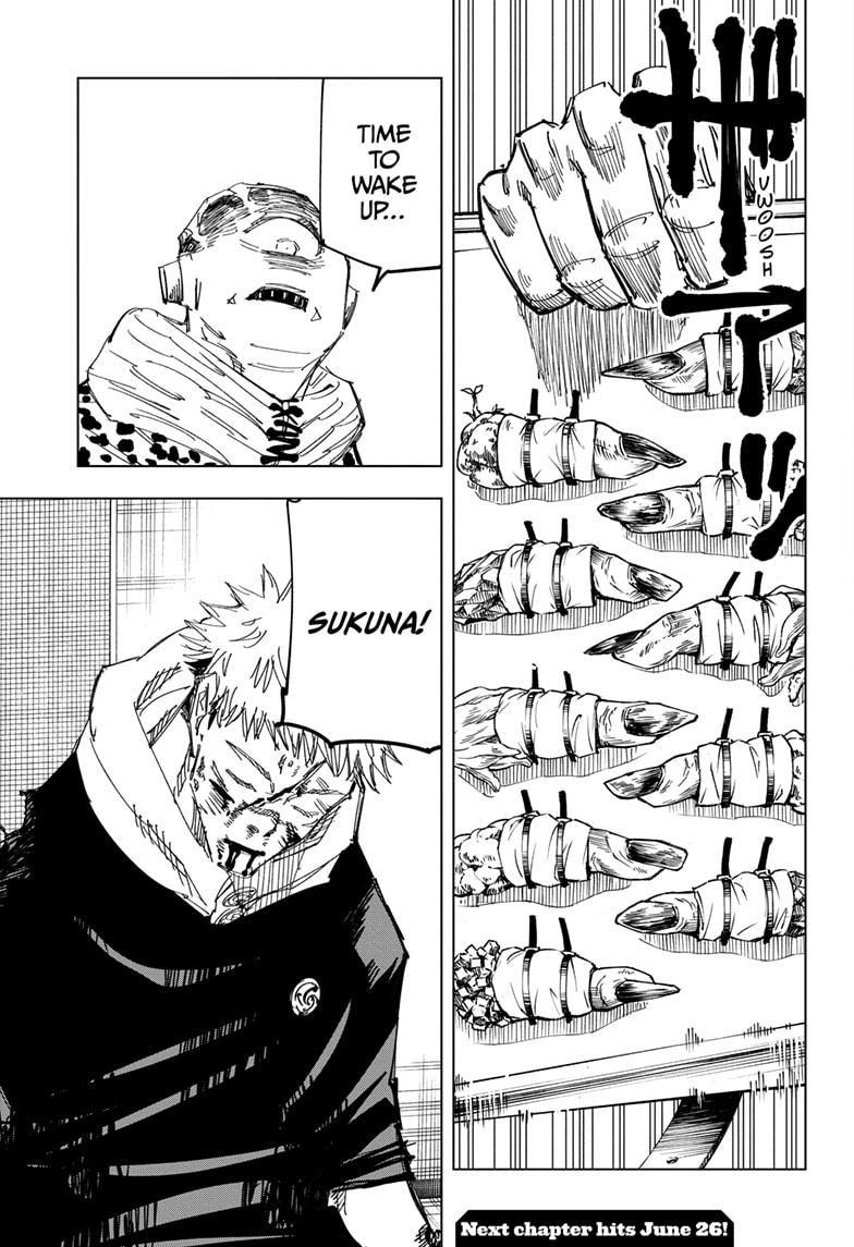Jujutsu Kaisen, Chapter 111 image 021