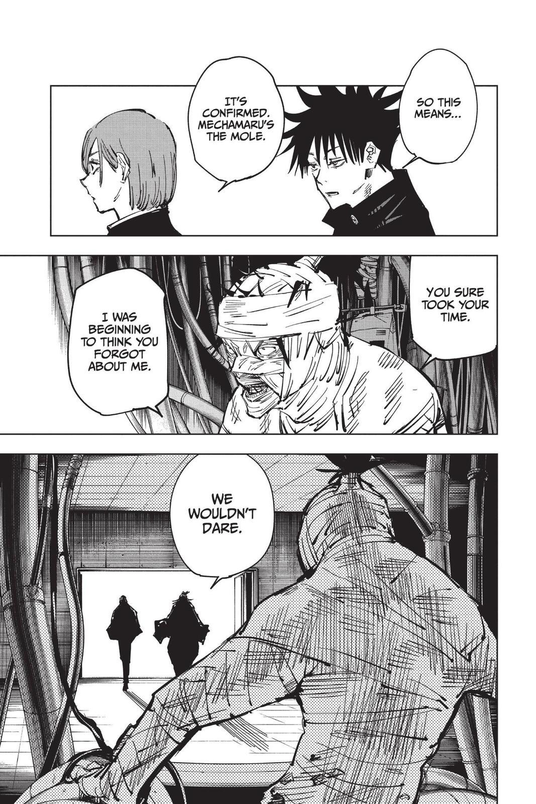 Jujutsu Kaisen, Chapter 79 image 015