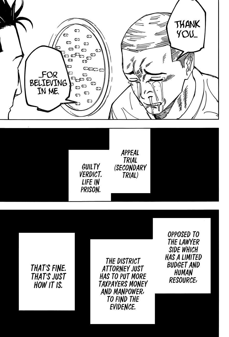 Jujutsu Kaisen, Chapter 159 image 13