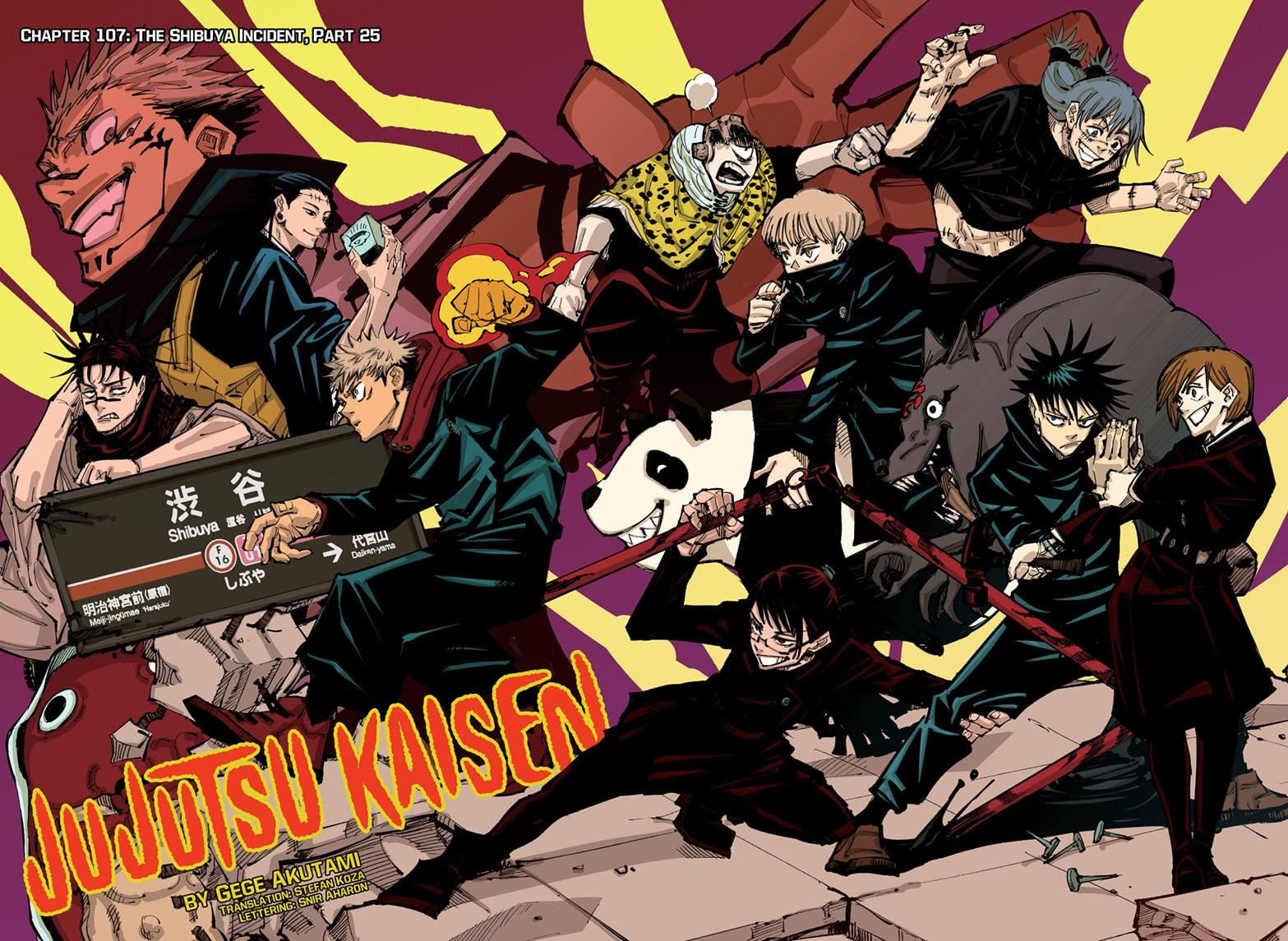 Jujutsu Kaisen, Chapter 107 image 002