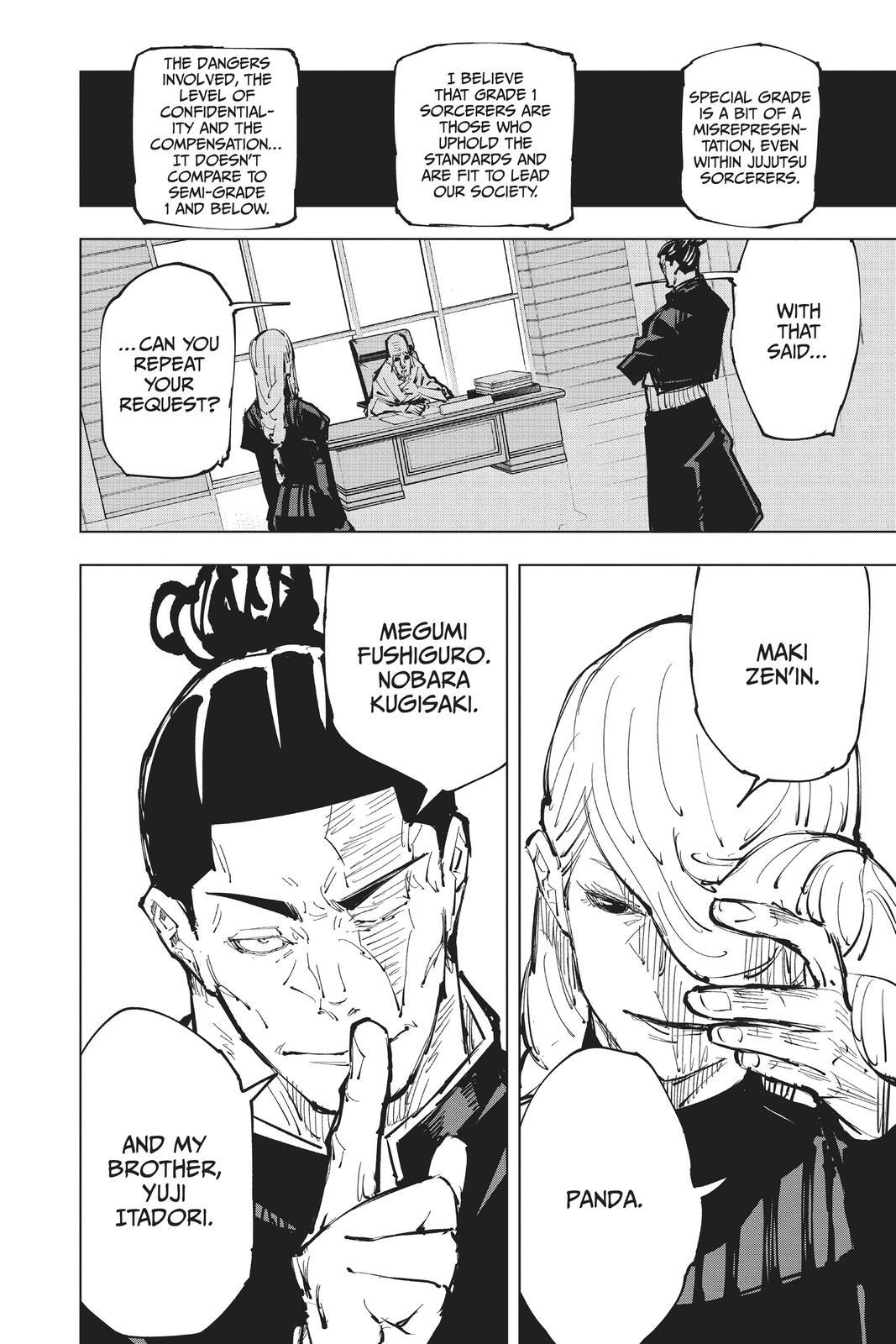 Jujutsu Kaisen, Chapter 63 image 020