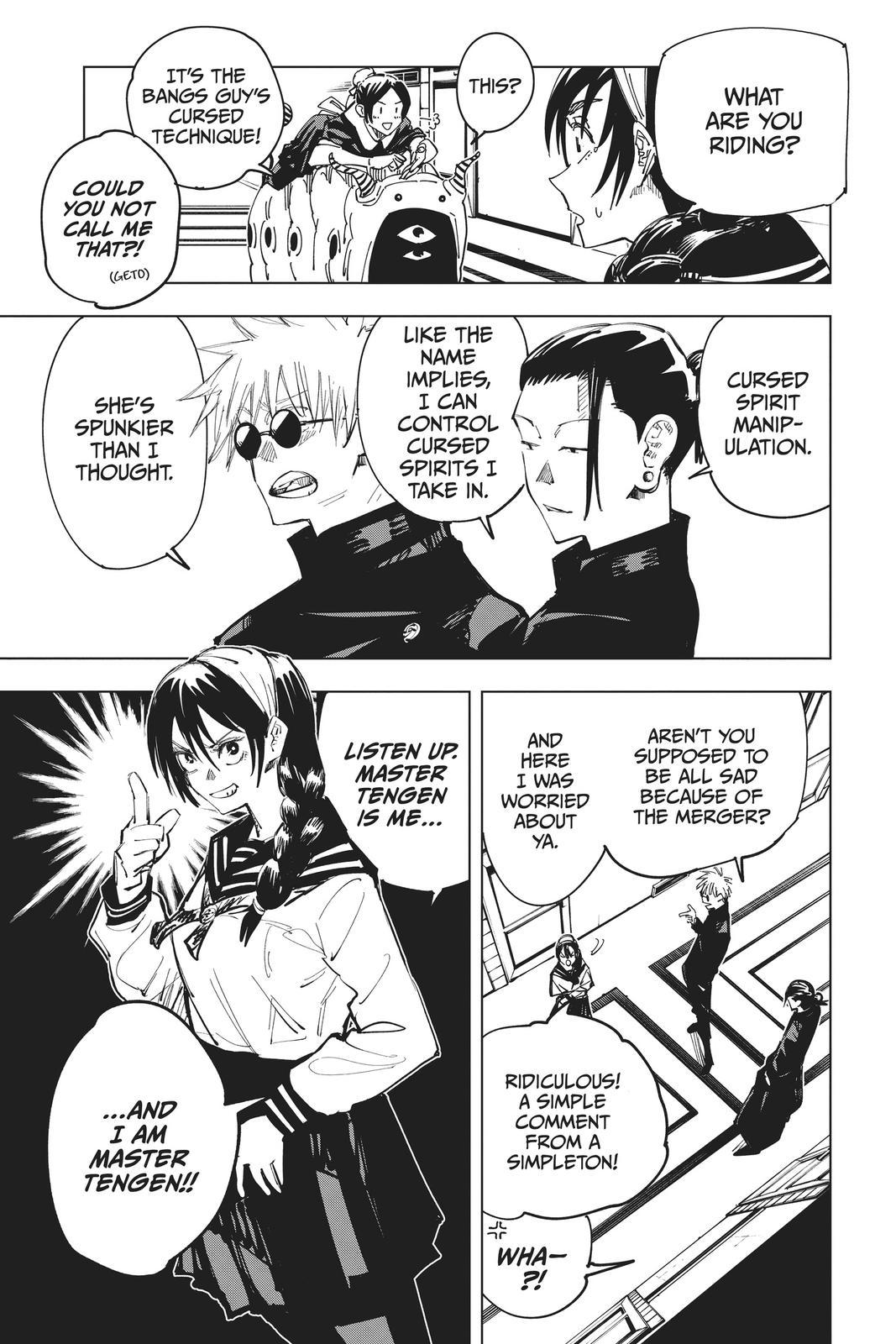 Jujutsu Kaisen, Chapter 67 image 011