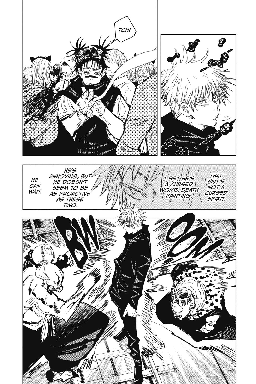 Jujutsu Kaisen, Chapter 85 image 014
