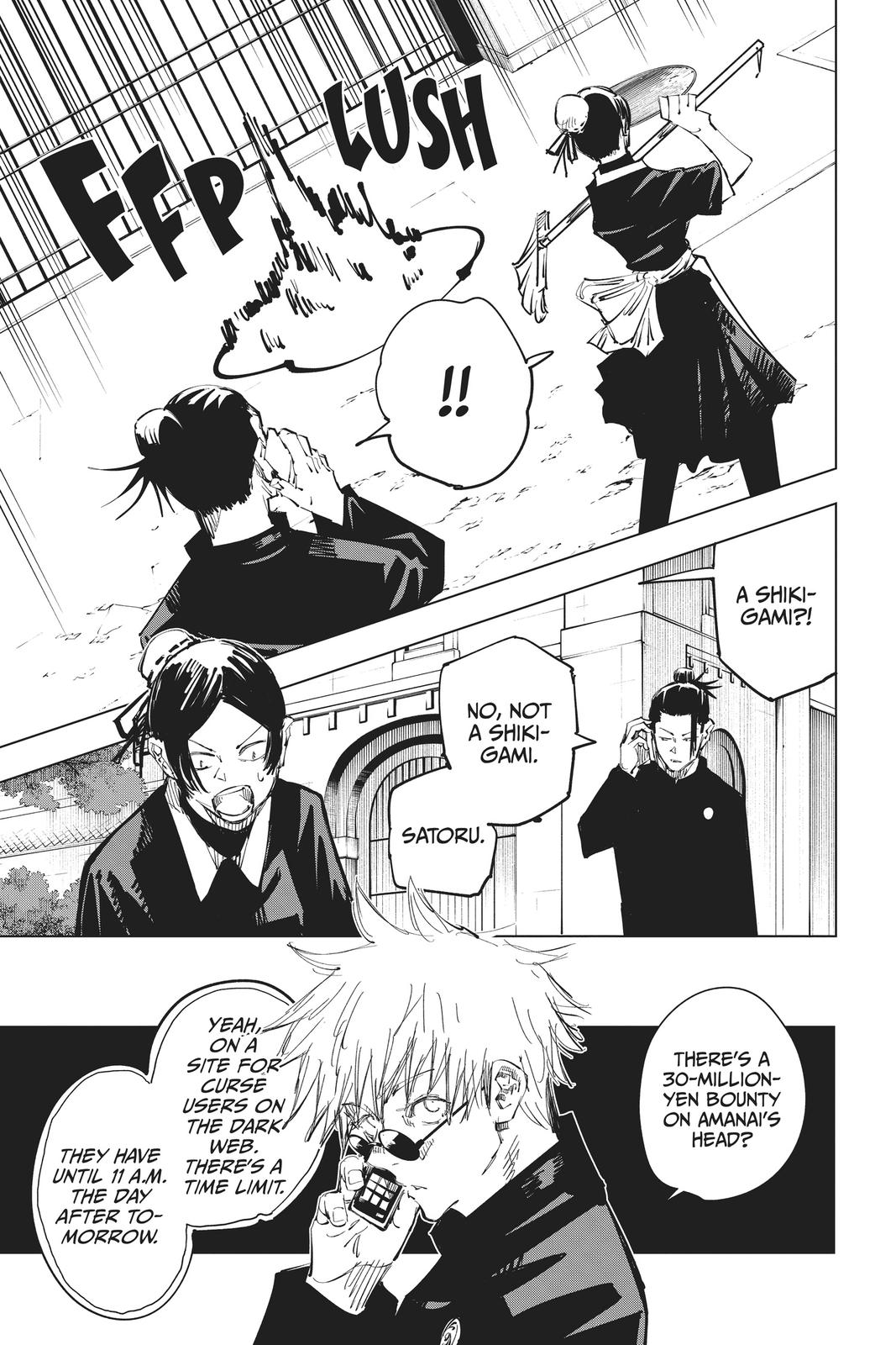 Jujutsu Kaisen, Chapter 69 image 009