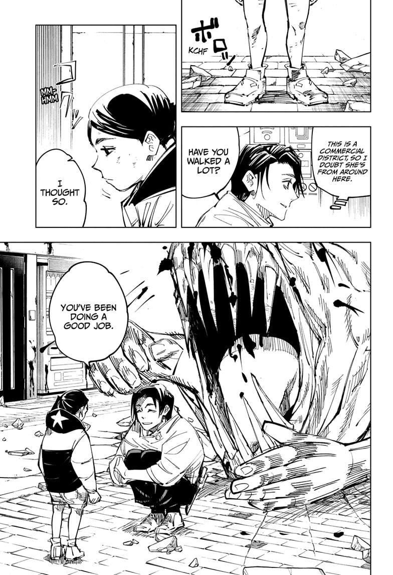 Jujutsu Kaisen, Chapter 137 image 014