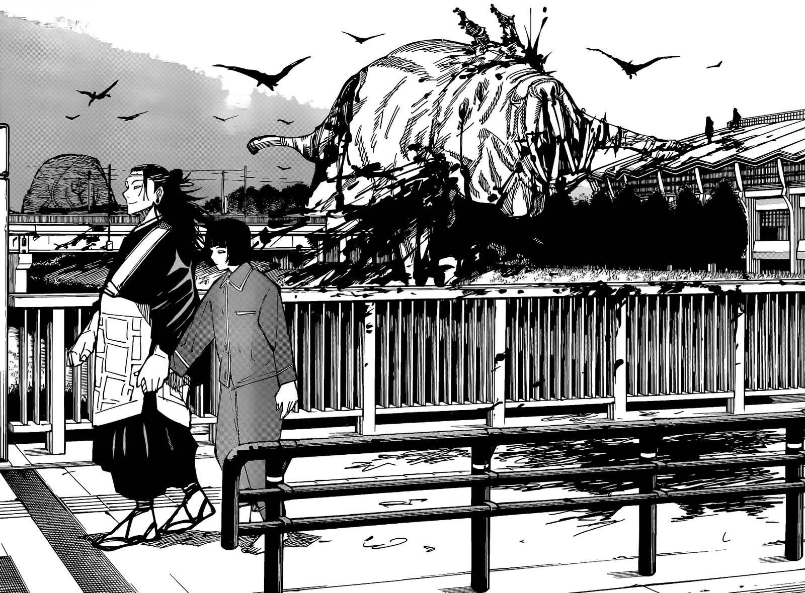 Jujutsu Kaisen, Chapter 160 image jujutsu_kaisen_160_7