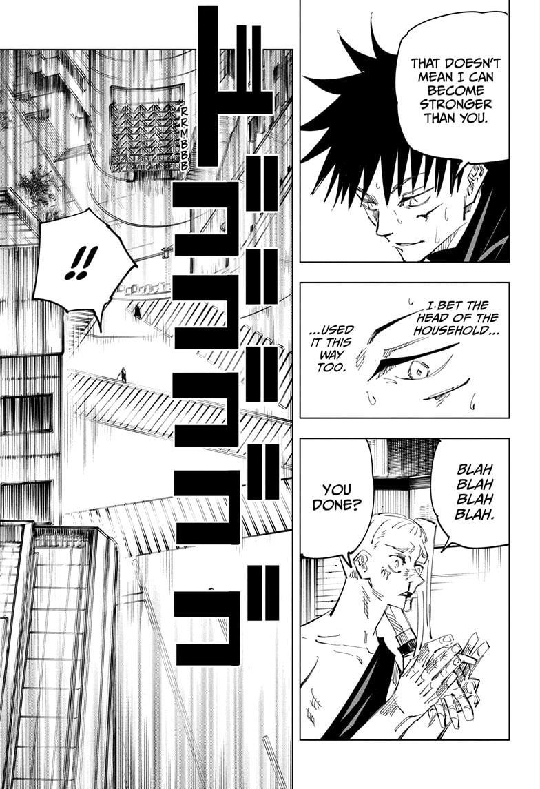 Jujutsu Kaisen, Chapter 117 image 007