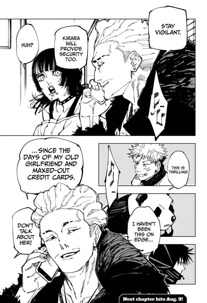 Jujutsu Kaisen, Chapter 153 image 019