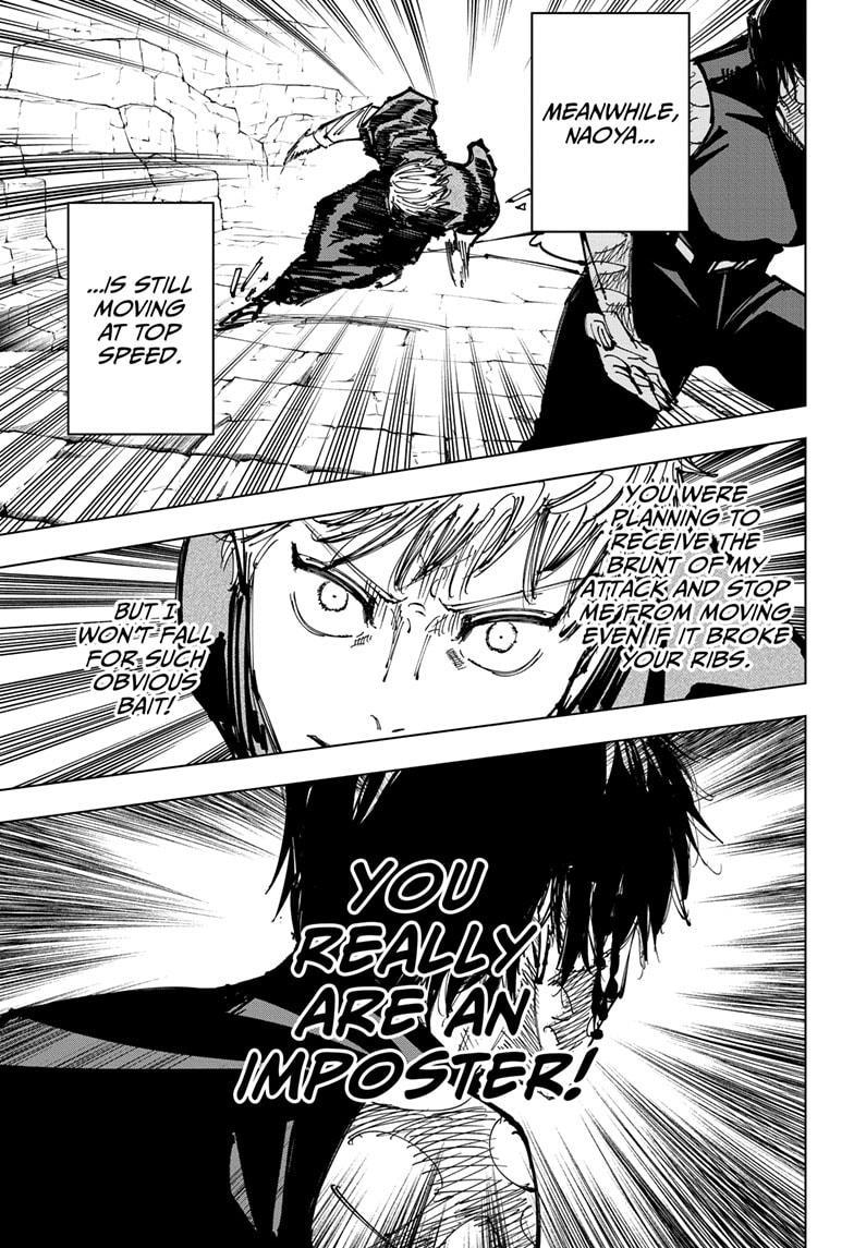 Jujutsu Kaisen, Chapter 151 image 016
