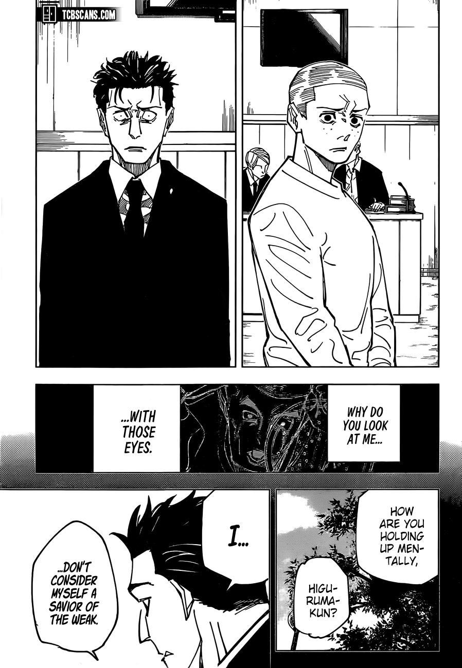 Jujutsu Kaisen, Chapter 159 image 15