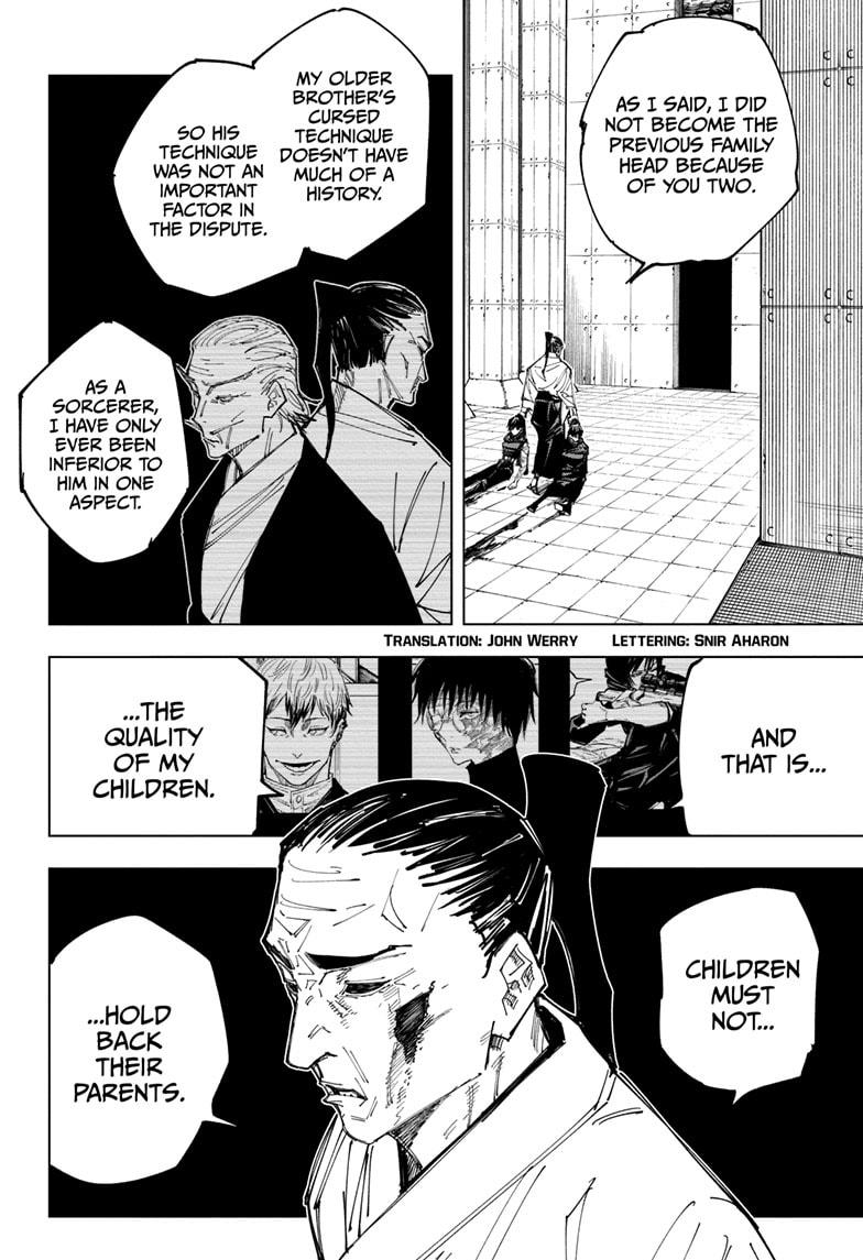 Jujutsu Kaisen, Chapter 149 image 002