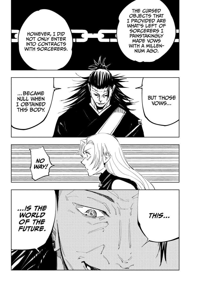 Jujutsu Kaisen, Chapter 136 image 016