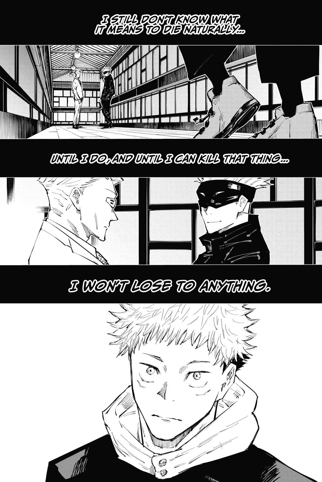 Jujutsu Kaisen, Chapter 31 image 020